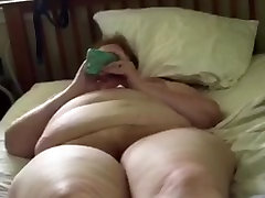 BBW Wife Clair - Nude On the Bed