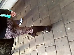 Candid MILF Ass In Tight Trousers & Boots