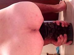 Warhead dildo detroying my hole