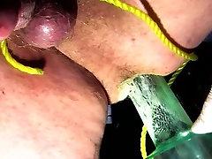 ballbusting anal toy