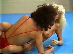Topless Retro Ring Wrestling