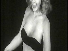 Vintage Stripper Black Lingerie
