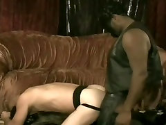 Big dicked black stud rams white ass bare