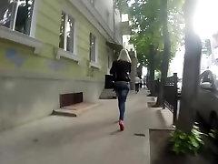 franco sexy como chica rusa nalgadas