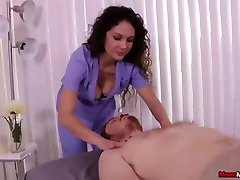 Sexy milf cock teasing