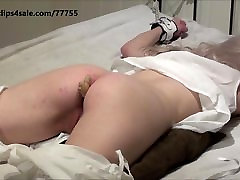 Victorian girl get ginger pain in ass before her spanking