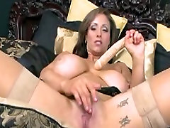 Busty Natural Big Tits Masturabation With Sex Toy