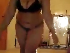 Arab Horny BBW Teen Girl Dance
