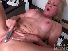 Mature Mandy Masturbates More