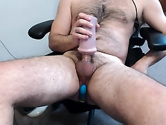 Moaning and Cumming With Vibe in my ass