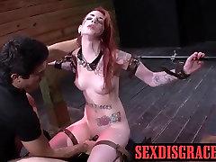 Sheena Rose has rough sex after choking on his real big cock