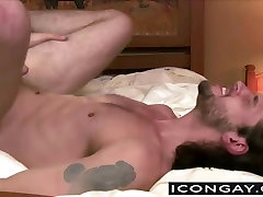 Tommy Defendi stuffing his big cock in Duncan Blacks ass
