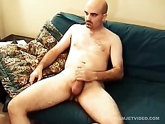 Young Amateur Brad Jerks Off