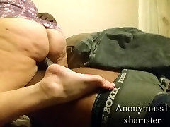 BBW wife riding my BBC and creampied missionary