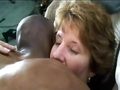 classy lady gets long black cock deeply inside