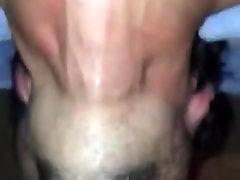 Huge black cock deepthroated like a pro