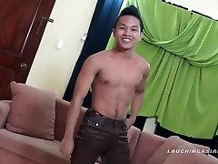Asian Foot Fetish Boy Nikos Jacking Off