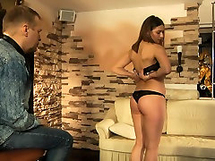 Slave girl is hot waxed whipped and humiliated.