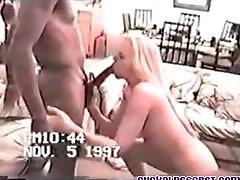Cuckold Secrets Vintage video of my wife with BBC mandingo