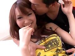 Miyu sucks cock and fucks hard in pure Asian hardcore