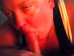 Hot bbw whore sucks my cock.