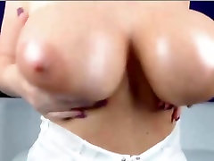 A Primer - Blonde big natural tits dildo masturbation