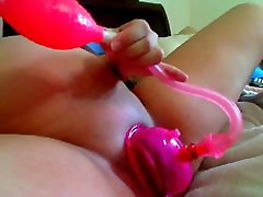 Pregnant Belly Dildo and Pussy Pump