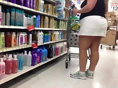 Hot bbw mature in skirt 3