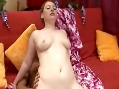 Fat Chubby Redhead Ex Girlfriend anal and riding cock,