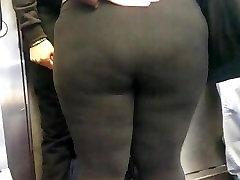 Latina Teen Bbw booty in Spandex
