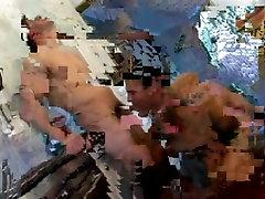 Young men fuck