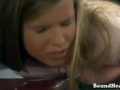 Betrayed Schoolgirls Tied Up By Lesbian Mistress