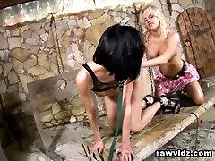 Sex Dungeon Blonde Teen Sex Slave Tied