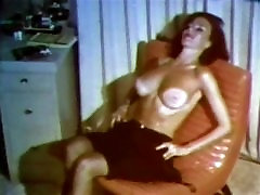 THUNDERTITS - vintage mature big boobs striptease stockings
