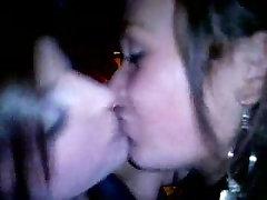 British Lesbians Kiss