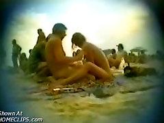 Hiddem cam at nudist beach