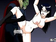 Sexo Hentai juego de mierda a mi cautivo chica sexy