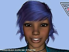Jennifer 18 Year Old 3D Teen Female Galleries At www.Fantasy18s.com