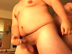 Daddy Bear Breeding His Young Chubby Cub in a Hotel Room, Part 1