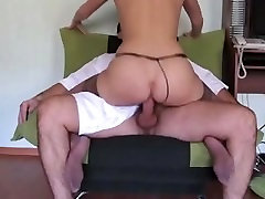 homemade anal in stockings home