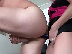 Wife Pegging her Husband by Huge Strapon