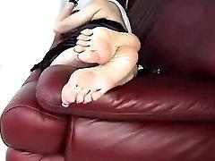 Big Sexy Wrinkly Mature Asian Feet! Long Toenails 2!