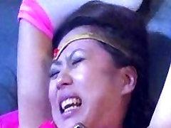 Japanese BBW All Over Skinny Girl