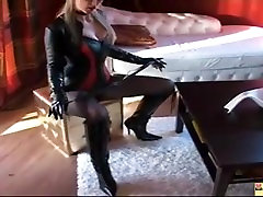 Leather Domina in Hotpants, Free BDSM Porn c4