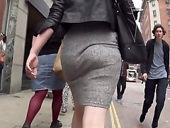 Deeann from 1fuckdate.com - See through grey skirt and thong