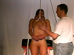 The Pleasure of Pain - Suspended by her tits
