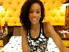 horny black teen from BlacksCrush.com fingering pretty pussy