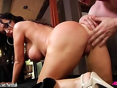 Nikki Benz fucked in the ass and cummed on