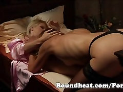 Enslaved Justice 2 - Spanking and Lesbian