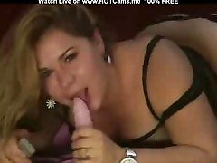Hot Russian BBW Teen Suck And Fuck Dildo